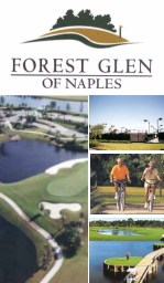 Forest Glen Golf and Country Club, Naples Florida
